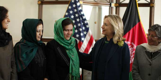 Secretary Clinton Announces the International Center for Afghan Women's Economic Development