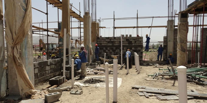 AUAF's Construction Site Makes Steady Progress on New Campus