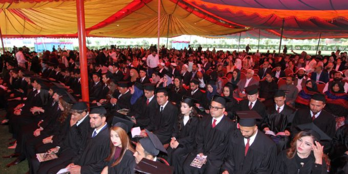 American University of Afghanistan Held its Eighth Annual Commencement Ceremony