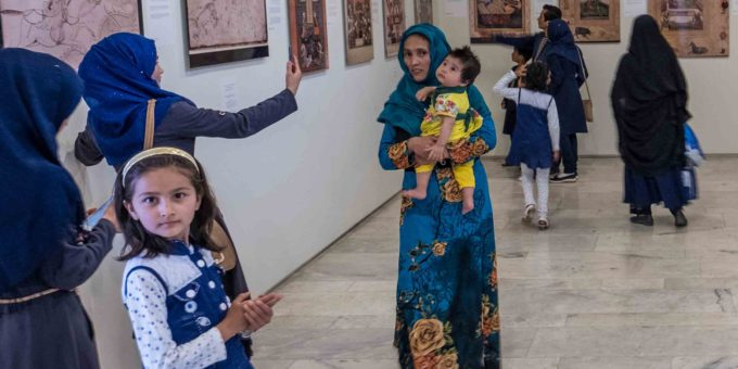 In Reproduced Miniatures, Afghans Regain a Lost Cultural Heritage A collection of exquisitely enlarged reproductions of rare miniature Afghan paintings brings the images back to their now troubled place of origin.