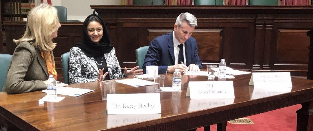 Harvard Veteran Alumni Organization Panel on the Future of Afghanistan