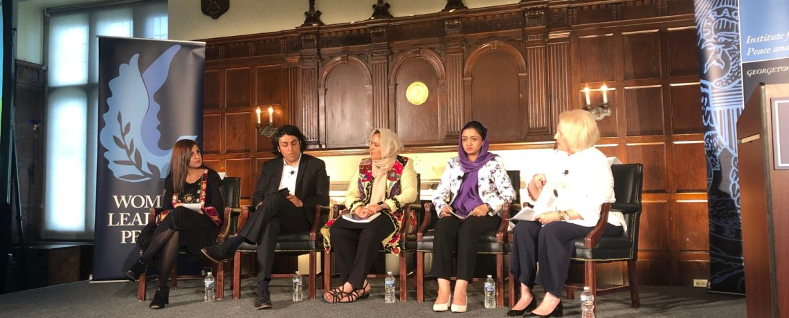 2016 AUAF Graduate Wania Yad Joins Distinguished Panel to Discuss an Inclusive Peace Process
