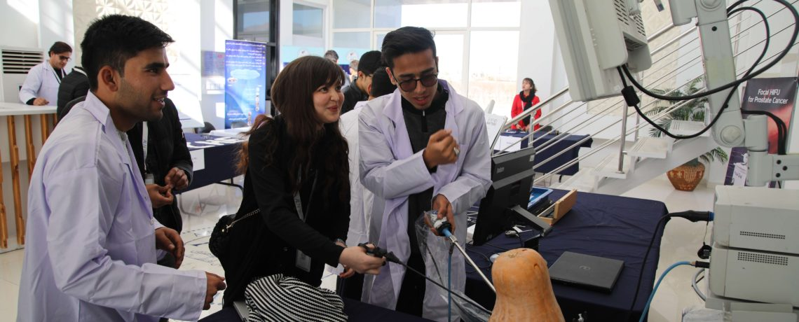 AUAF SPOTLIGHTED SCIENCE DAY WITH STUDENTS' OWN SCIENTIFIC EXPERIMENTS