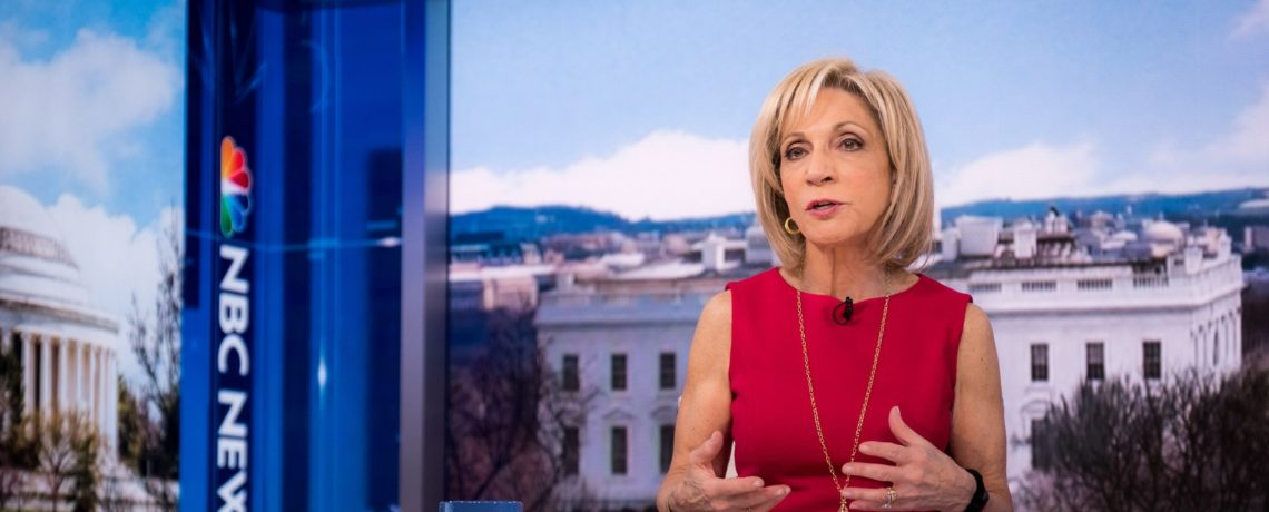 AUAF In The News: Andrea Mitchell Reflects on Women in Politics
