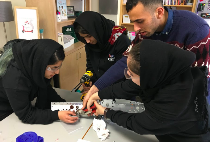 The Afghan Girls Robotics Team Continue to Inspire in the Pandemic Fight