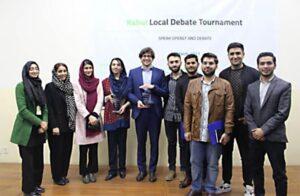 AUAF Debate Teams Win in Local Tournament