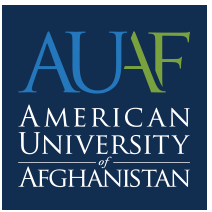 American University of Afghanistan logo